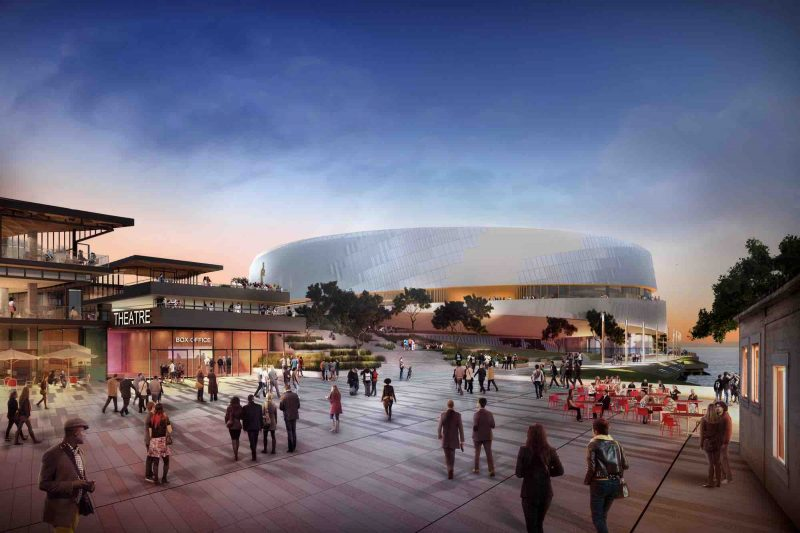 Golden State Warriors Stadium