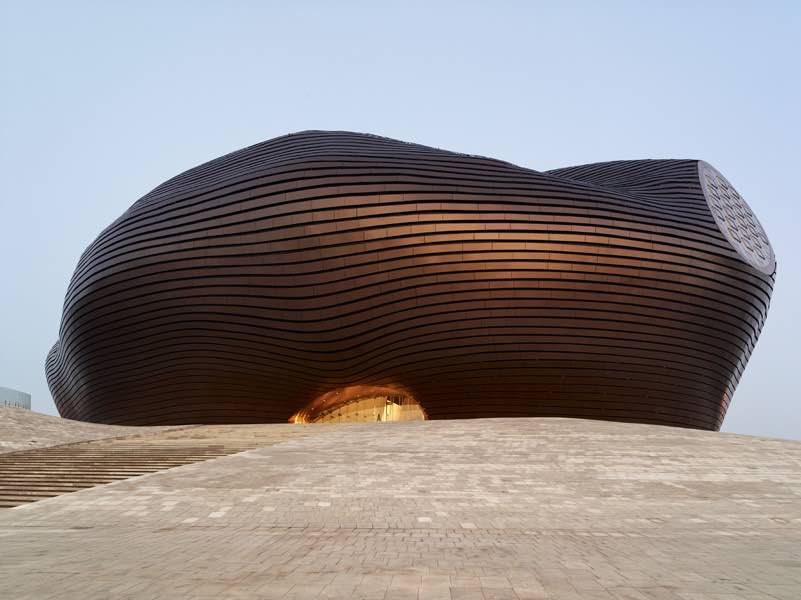 Ordos Art & City Museum by MAD Architects